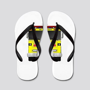 Fire Engine - Traditional fire engines Flip Flops