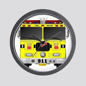 Fire Engine - Traditional fire engines Wall Clock