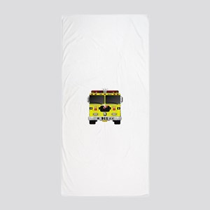 Fire Engine - Traditional fire engines Beach Towel