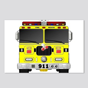 Fire Engine - Traditional Postcards (Package of 8)