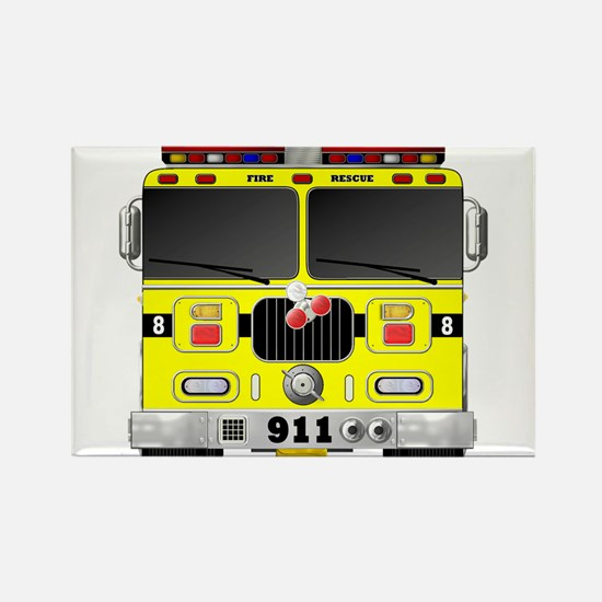 Fire Engine - Traditional fire engines fro Magnets
