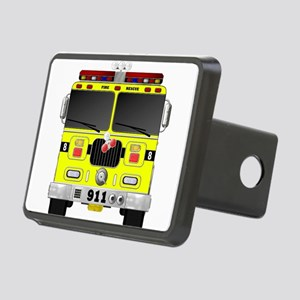 Fire Engine - Traditional Rectangular Hitch Cover