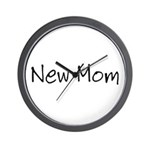 New Mom Wall Clock