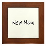 New Mom Framed Tile