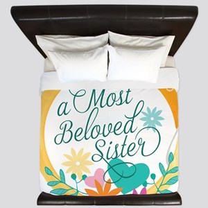 A Most Beloved Sister King Duvet
