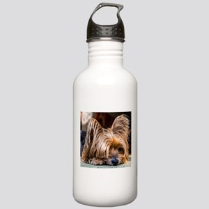 Yorkshire Terrier Dog Stainless Water Bottle 1.0L