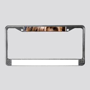Yorkshire Terrier Dog Small Cu License Plate Frame