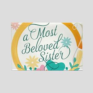 A Most Beloved Sister Magnets