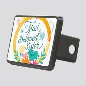 A Most Beloved Sister Rectangular Hitch Cover
