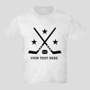Hockey Personalized Kids Light T-Shirt