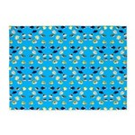 Scattered Triggerfish and Butterflyfish pattern on