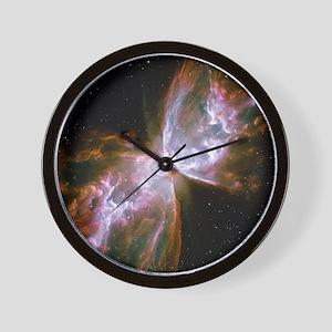 Butterfly Nebula Wall Clock