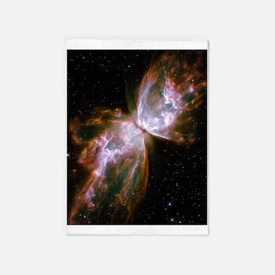 Butterfly Nebula 5'x7'Area Rug