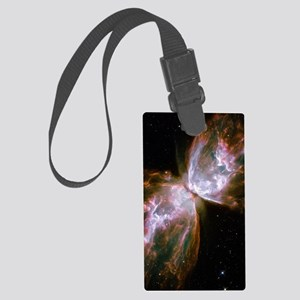 Butterfly Nebula Large Luggage Tag