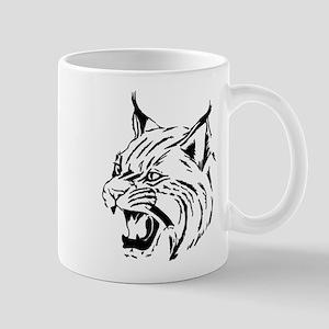 Tiger Wildcat Cat Head Face Lineart Animal Mugs