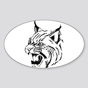 Tiger Wildcat Cat Head Face Lineart Animal Sticker