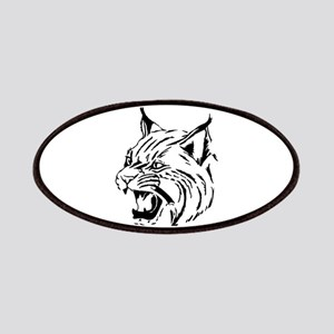 Tiger Wildcat Cat Head Face Lineart Animal Patch