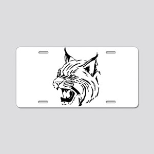 Tiger Wildcat Cat Head Face Aluminum License Plate