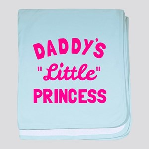 Daddy's Little Princess baby blanket