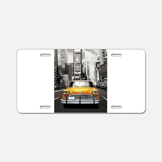I LOVE NYC - New York Taxi Aluminum License Plate