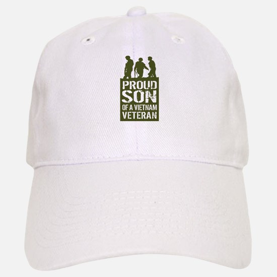 Proud Son Of A Vietnam Veteran Baseball Baseball Cap