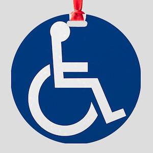 Handicap Sign Ornament