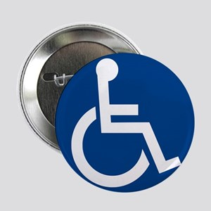 "Handicap Sign 2.25"" Button (10 pack)"