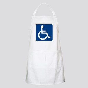 Handicap Sign Apron