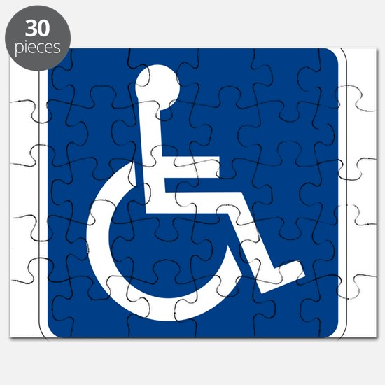 Handicap Sign Puzzle