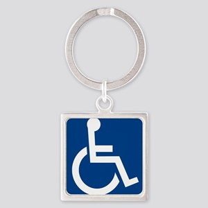Handicap Sign Keychains