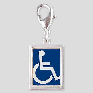 Handicap Sign Charms