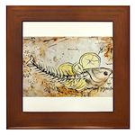 Fish in Salt Crust Framed Tile