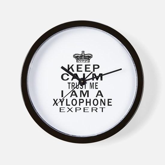 I Am Xylophone Expert Wall Clock