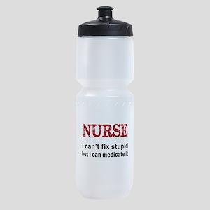 NURSE TOO Sports Bottle