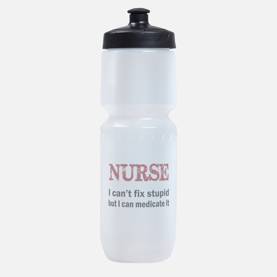 NURSE TOO Sports Bottle