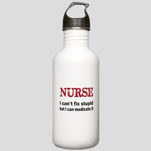 NURSE TOO Water Bottle