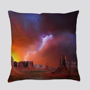 Monument Valley Everyday Pillow