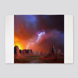 Monument Valley 5'x7'Area Rug