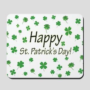Happy St Patricks Day Mousepad