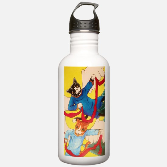 Cherub Cats Water Bottle