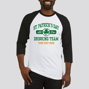 St. Patrick's Day Drinking Team Pe Baseball Jersey
