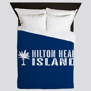 Hilton Head Island, South Carolina Queen Duvet