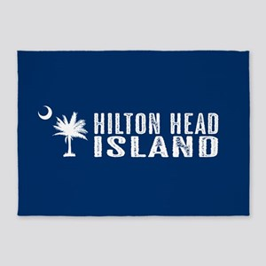 Hilton Head Island, South Carolina 5'x7'Area Rug