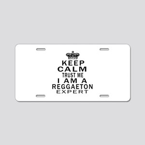 Reggaeton Dance Expert Desi Aluminum License Plate