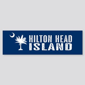 Hilton Head Island, South Carolin Sticker (Bumper)