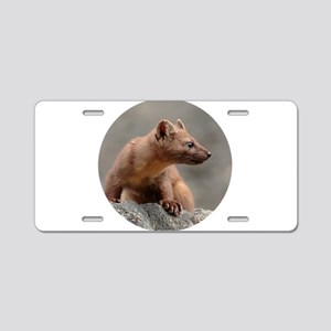 Weasel Aluminum License Plate