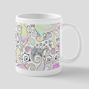 Pastel paisley Mugs