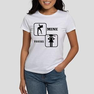 Your Girl vs Mine Women's T-Shirt