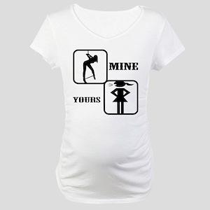 Your Girl vs Mine Maternity T-Shirt