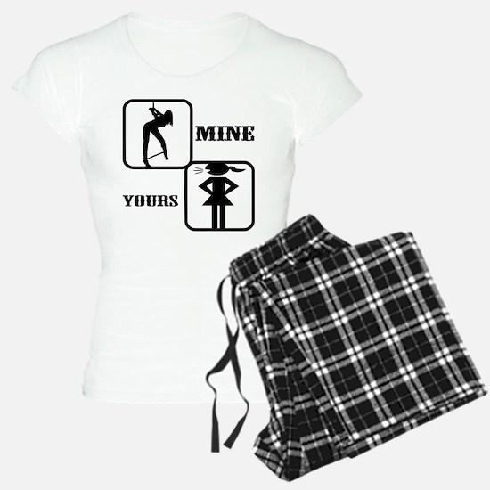 Your Girl vs Mine Pajamas